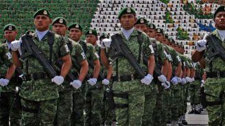 Elementos del Ejército y la Fuerza Aérea Mexicana