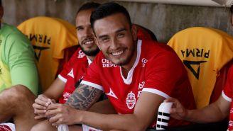 Jesús Zavala, durante un partidos con Mineros de Zacatecas
