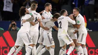 Real Madrid celebra una anotación frente el Al Ain