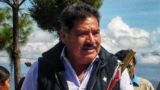 Alejandro Aparicio Santiago, en un evento en Oaxaca