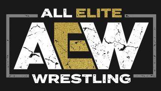 Este es el logo de All Elite Wrestling