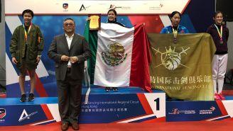 Fernanda Herrera, tras su participación en un torneo en Hong Kong