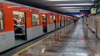 Metro de la CDMX en funcionamiento
