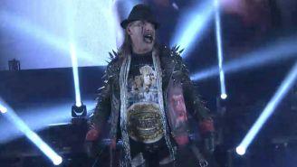 Chris Jericho en Wrestle Kingdom 13