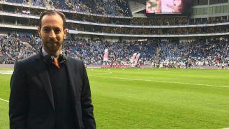 Mauricio Ymay en el Estadio de Rayados