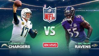 EN VIVO Y EN DIRECTO: LA Chargers vs Baltimore Ravens
