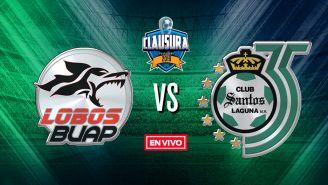 EN VIVO y EN DIRECTO: Lobos BUAP vs Santos