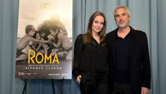 Angelina Jolie y Alfonso Cuarón