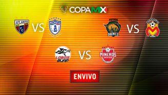 EN VIVO y EN DIRECTO: Copa MX J1 Martes