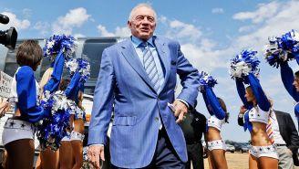 Jerry Jones, dueño de Dallas Cowboys