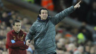 Emery da indicaciones en partido del Arsenal