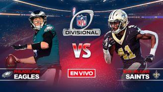 EN VIVO Y EN DIRECTO: Philadelphia Eagles vs New Orleans Saints