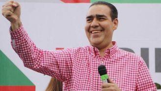 Heriberto Treviño durante un evento