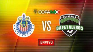 EN VIVO Y EN DIRECTO: Chivas vs Cafetaleros
