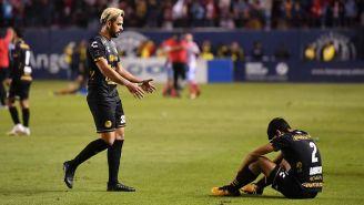 Jugadores de Dorados tras caer en la Final