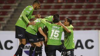 FC Juárez festeja uno de los goles