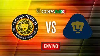 EN VIVO y EN DIRECTO: Leones Negros vs Pumas