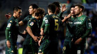 Betis festeja pase a Cuartos Final de la Copa del Rey