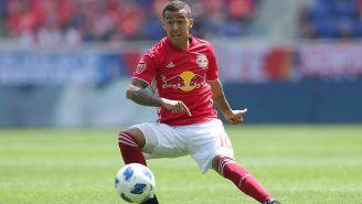 Romero Gamarra, durante un partido con el Red Bull de la MLS
