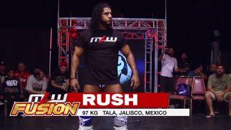 Rush hace su entrada al ring en MLW