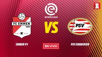 EN VIVO Y EN DIRECTO: Emmen vs PSV Eindhoven