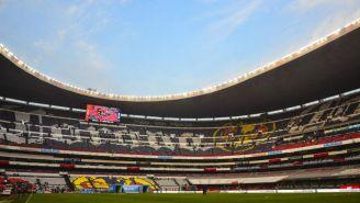 El Estadio Azteca minutos antes del duelo entre América y Pachuca