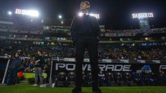 Pedro Caixinha, previo al arranque del duelo contra Tigres