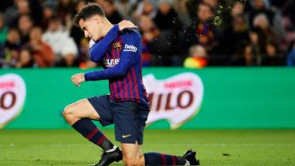 Philippe Coutinho durante un partido del Barcelona