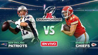 EN VIVO y EN DIRECTO: Patriots vs Chiefs