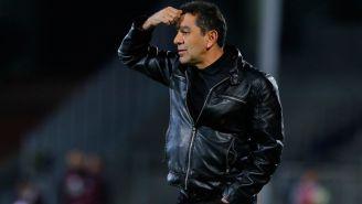 David Patiño, lamenta juego de Pumas