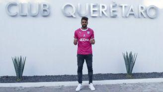 Nicolás Navarro, nuevo portero del Querétaro