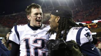 Brady sonríe tras vencer a los Chiefs