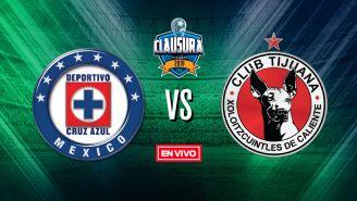 EN VIVO y EN DIRECTO: Cruz Azul vs Tijuana
