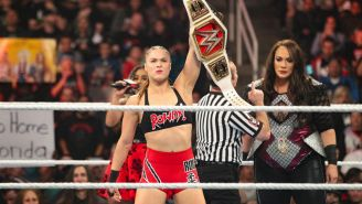 Ronda Rousey antes de una lucha