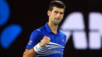 Djokovic celebra su pase a la Final