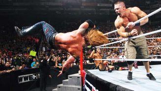 Momento en que John Cena elimina a Heath Slater