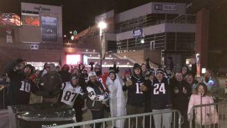 Aficionados de los New England Patriots