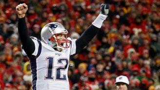 Tom Brady festeja triunfo de Patriotas