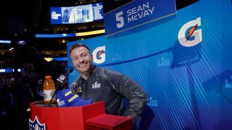 McVay, durante el Opening Night