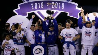 Los Charros alzan el trofeo de la Liga de Pacífico