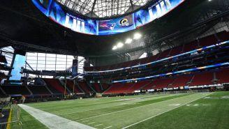 Mercedes Benz Stadium preparado para el Super Bowl LIII