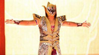 Gran Metalik hace su entrada en WWE