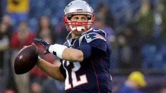 Brady se prepara para lanzar en un juego de Pats