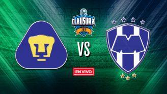 EN VIVO Y EN DIRECTO: Pumas vs Monterrey