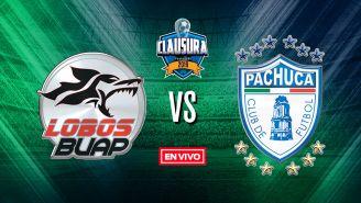 EN VIVO y EN DIRECTO: Lobos BUAP vs Pachuca