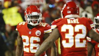 Damien Williams celebra anotación con Ware