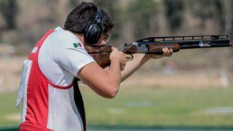 Jorge Orozco, durante una competencia