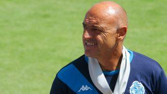 José Luis Sánchez Solá como técnico del Puebla