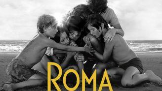 Cartel oficial de la película Roma