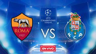 EN VIVO y EN DIRECTO: Roma vs Porto